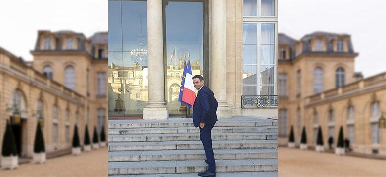 ENVEA-Chevillion-DG-CEO-Elysées-Macron