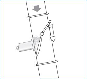 m-sens moisture measurement free fall process solids