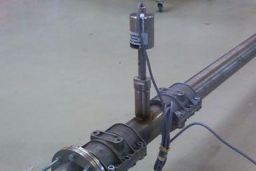 Velocity measurement of bitumen granules