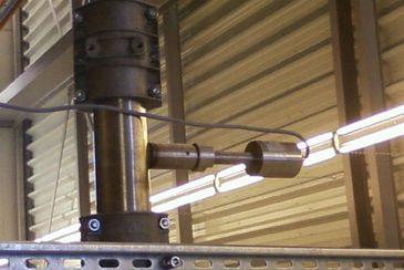 Velocity measurement of grains in free fall