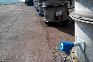 Quantity measurement of filter dust in clear gas pathes