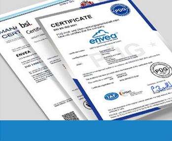 QHSE Certificates