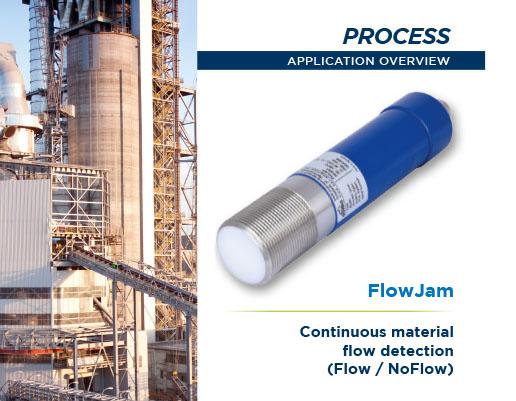 continuous lmaterial flow detection