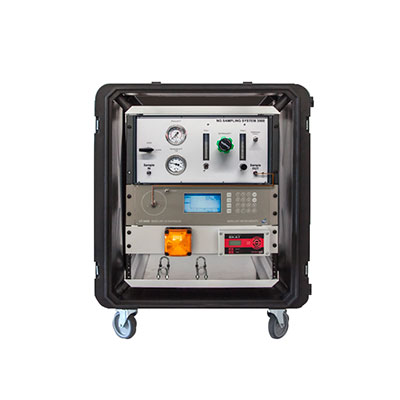 All-in-one portable instrument for real-time Hg monitoring in ambient air and other gases