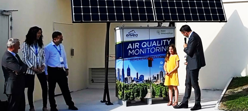 World's Premiere Solar Air Quality Monitoring Station